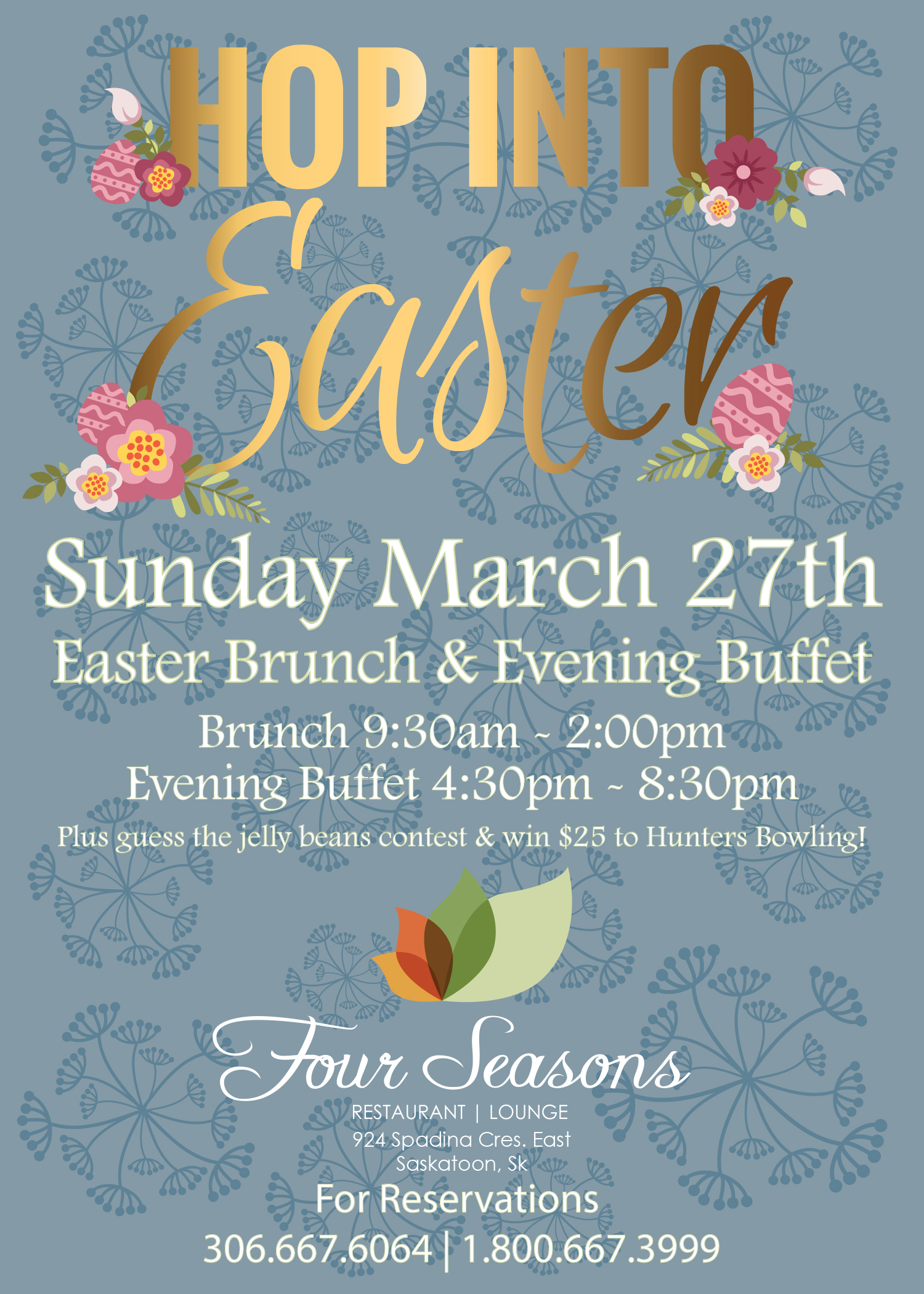Park Town Hotel Saskatoon Hop Into Easter At The Park Town Hotel