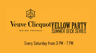 Veuve Clicquot Yellow Party Summer Deck Series